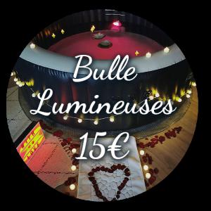 Option Bulle Lumineuse 15€ - Bulle d'un soir Alsace