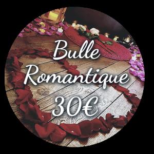Option Bulle Romantique 30€ - Bulle d'un soir Alsace