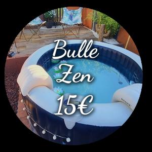 Option Bulle Zen 15€ - Bulle d'un soir Alsace